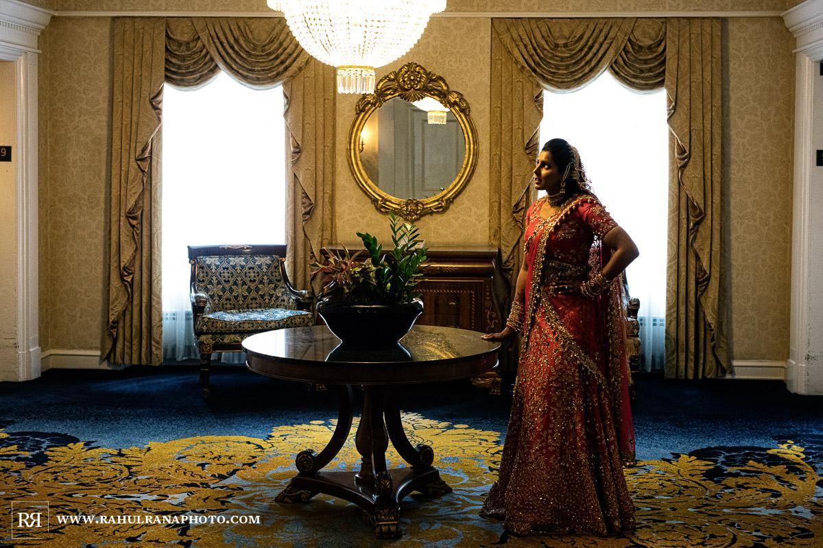 Bride - Drake Hotel Chicago - Indian Muslim Fusion Wedding - Rahul Rana Photography