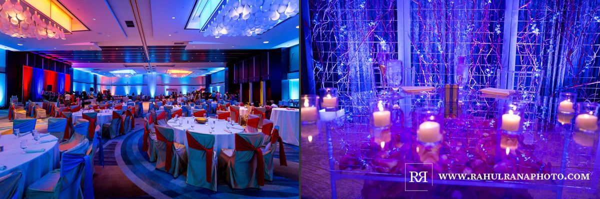 Elegance Decor - Hyatt Regency Ohare - Indian Gujarati Wedding Garba Reception - Rahul Rana Photography