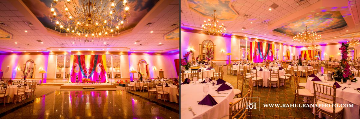 Elegance Decor - Meridien Banquets Rolling Meadows - Punjabi Wedding Sangeet - Rahul Rana Photography