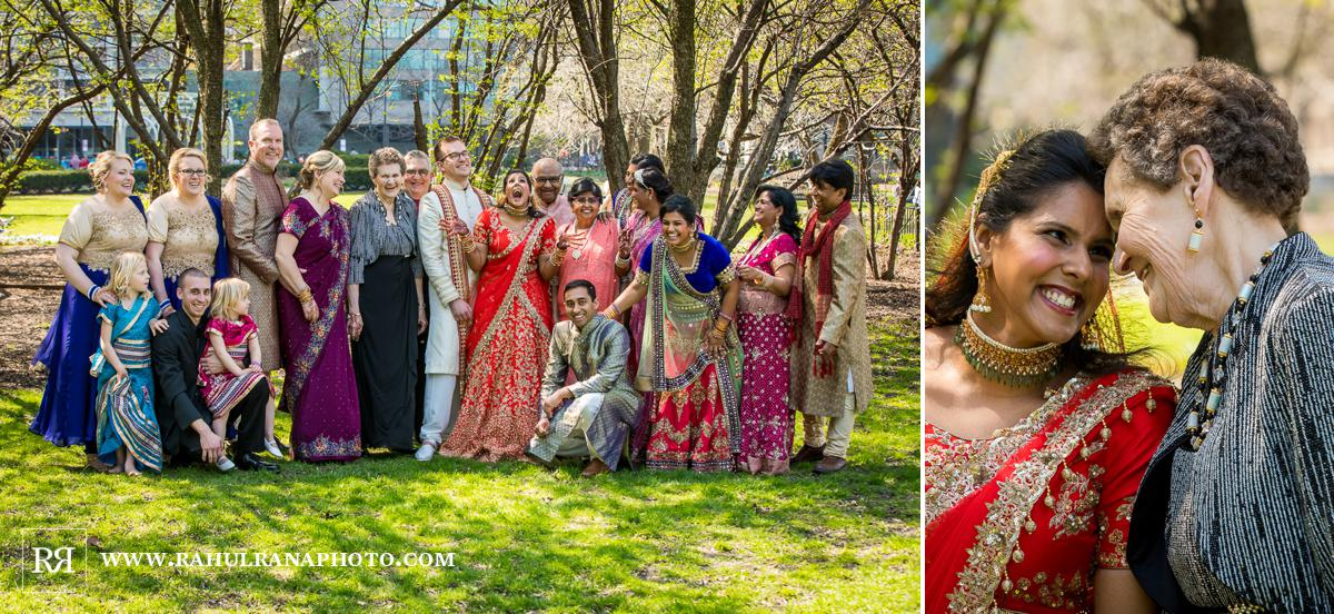 Family Portraits - Drake Hotel Chicago - Indian Muslim Fusion Wedding - Rahul Rana Photography