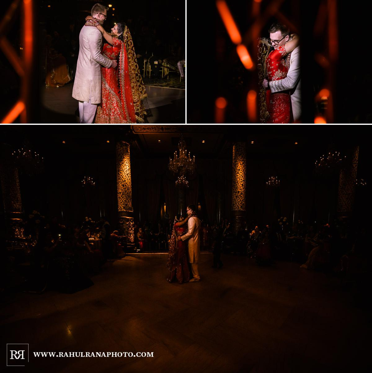 First Dance - Drake Hotel Chicago - Indian Muslim Fusion Wedding - Rahul Rana Photography