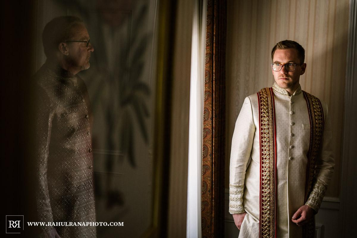 Groom Father - Drake Hotel Chicago - Indian Muslim Fusion Wedding - Rahul Rana Photography