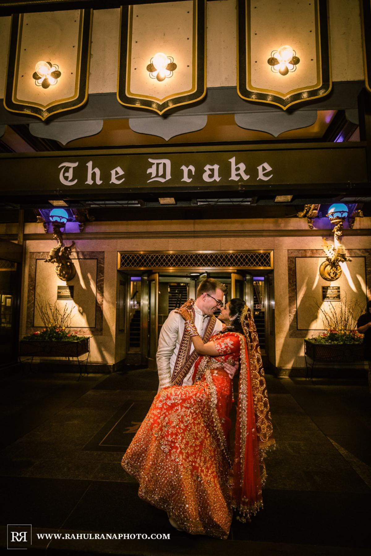 Portraits - Drake Hotel Chicago - Indian Muslim Fusion Wedding - Rahul Rana Photography