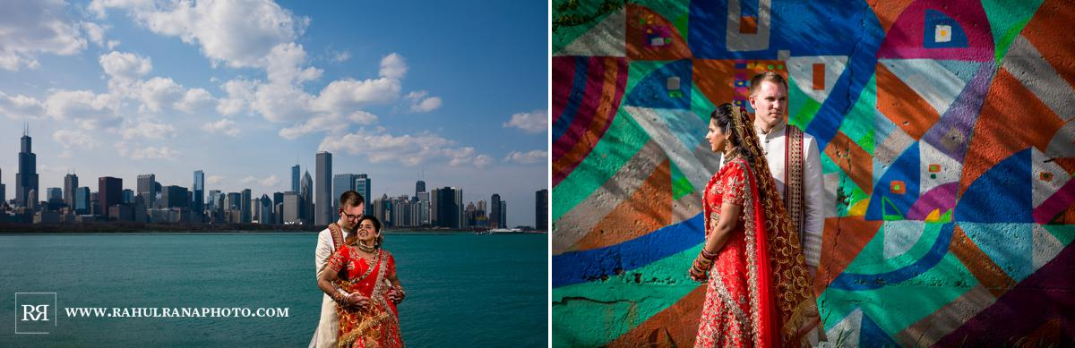 Shedd Aquarium Chicago - Indian Muslim Fusion Wedding - Rahul Rana Photography